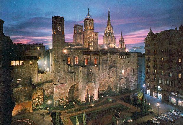 Turul Barcelonei in 3 zile barrio gotico