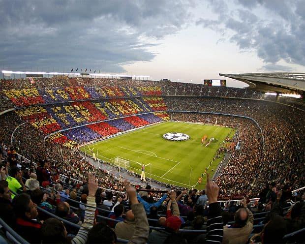 Principalele atractii ale Barcelonei camp nou