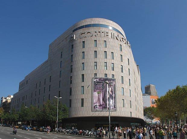 Shopping in Barcelona el corte ingles