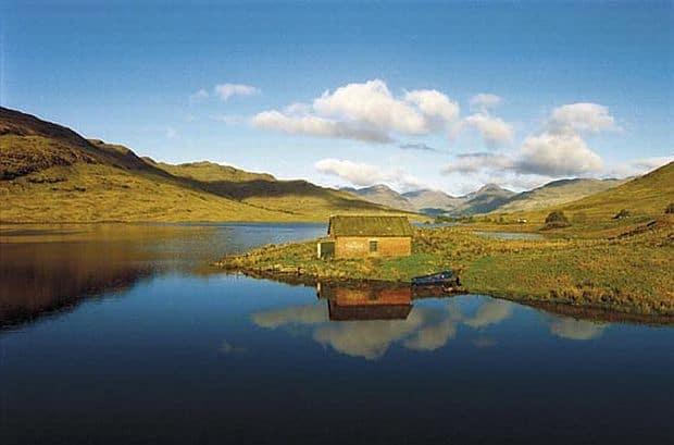 Glasgow, stralucire scotiana loch lomond