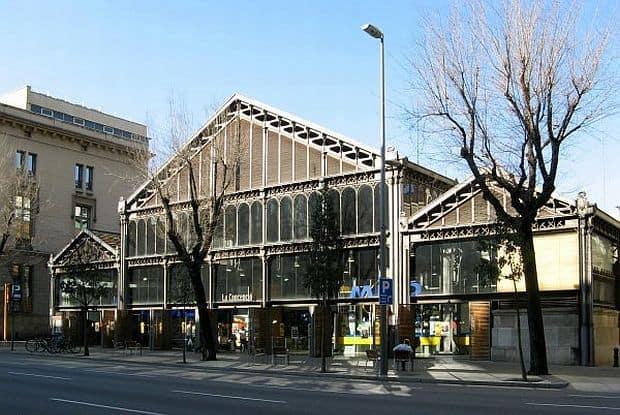 Shopping in Barcelona mercat de la conceptio