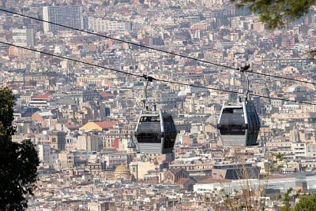 Principalele atractii ale Barcelonei montjuic