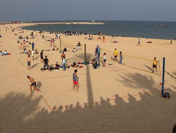 Plajele din Barcelona nova icaria
