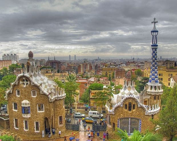 Turul Barcelonei in 3 zile parc guell1