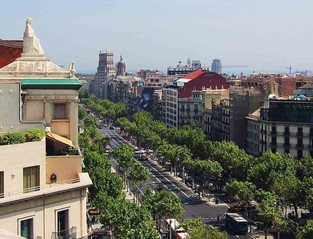 Principalele atractii ale Barcelonei paseig de gracia