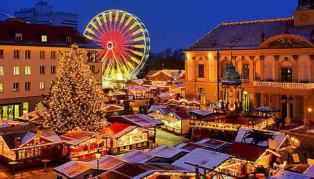 Cu TAROM vizitezi pieţele de Crăciun din Europa! tarom tc