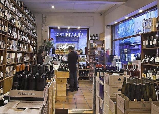 Shopping in Barcelona vila viniteca