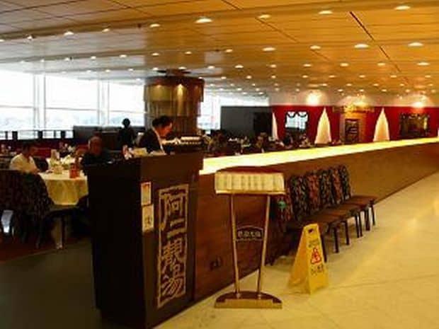 Cele mai bune restaurante din aeroporturi hk
