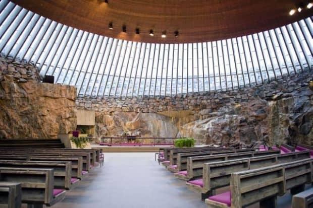 5 lucruri ce nu trebuie ratate in Helsinki 5 lucruri ce nu trebuie ratate in Helsinki Temppeliaukio Kirkko