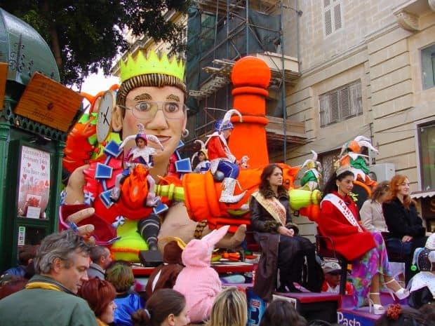 Soare si distractie in Malta Soare si distractie in Malta carnaval malta
