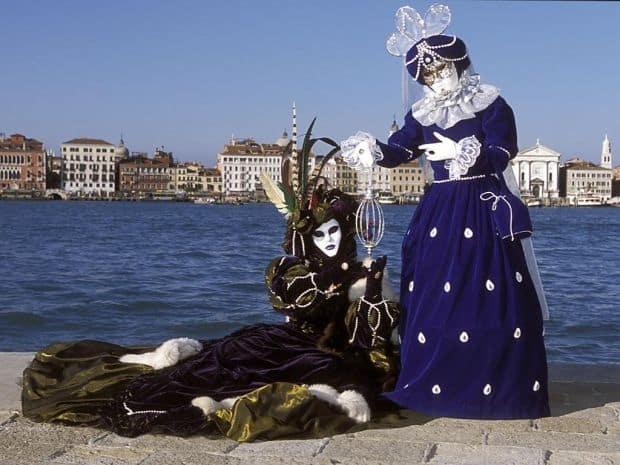 Venetia, iarna Venetia, iarna carnaval
