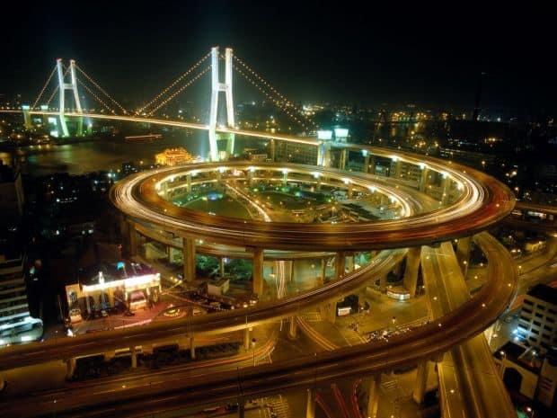 Shanghai, orasul superstar shanghai noaptea