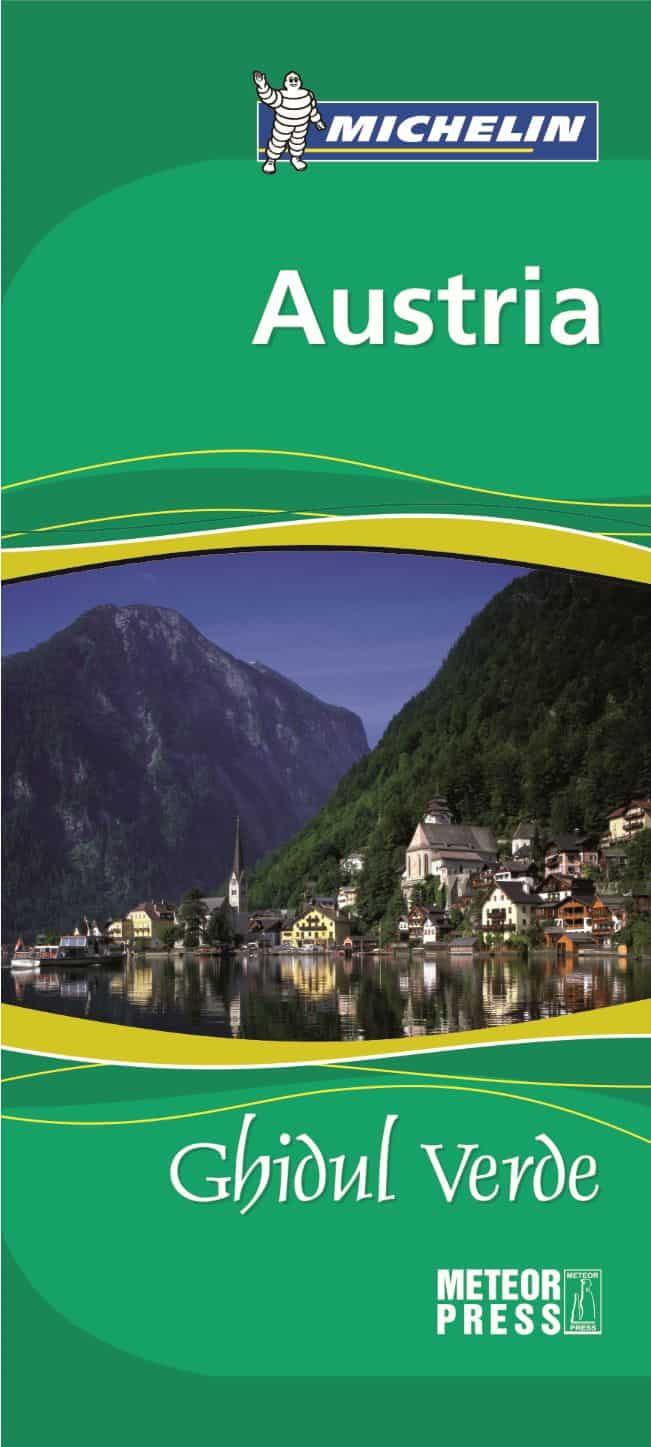 Concurs: castiga 5 ghiduri Michelin Austria! Ghidul Verde Michelin Austria Coperta 1