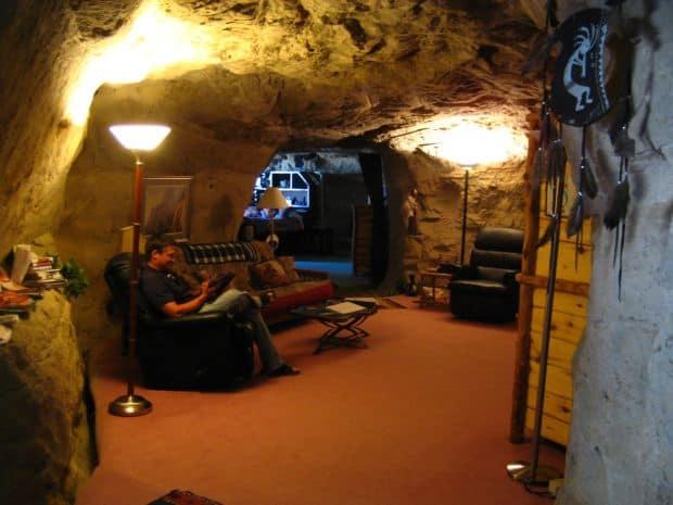10 incredibile hoteluri subterane Kokopellis Cave
