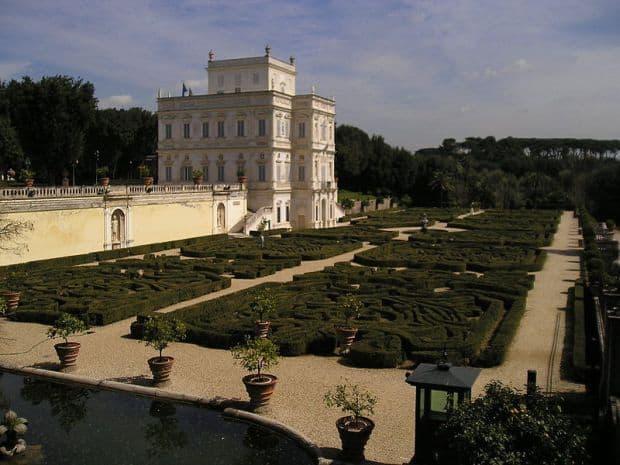 roma Cartierele Romei Villa Pamphili