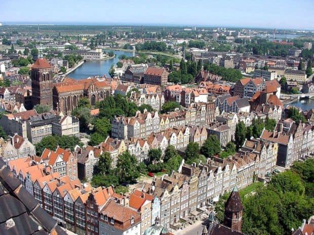 gdansk Uimitorul oras polonez Gdansk gdansk old