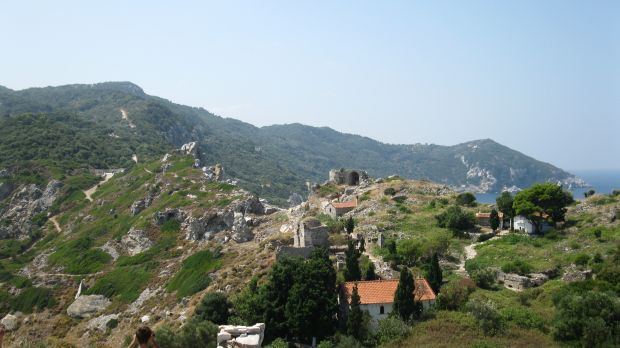 skiathos Insulele grecesti: Skiathos - minighid turistic kastro skiathos