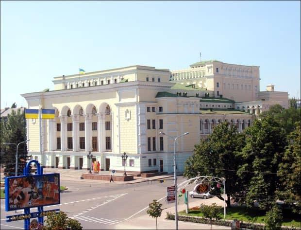 Donetsk, nu doar orasul lui Mircea Lucescu opera donetsk