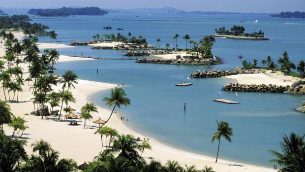 Destinatii romantice in Asia de sud-est sentosa