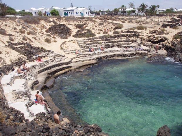 Cele mai bune plaje pentru nudisti din Spania Charco del Palo