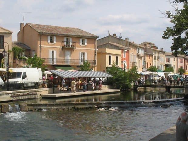 Fascinanta regiune Provence L Isle sur la Sorgue