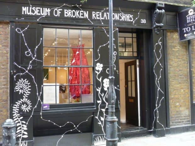 10 destinatii pentru inimile zdrobite Museum of Broken Relationships
