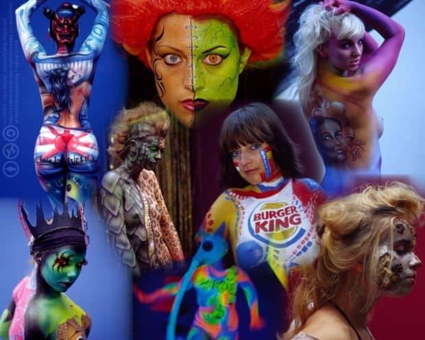 10 festivaluri cu tenta erotica din intreaga lume World Bodypainting