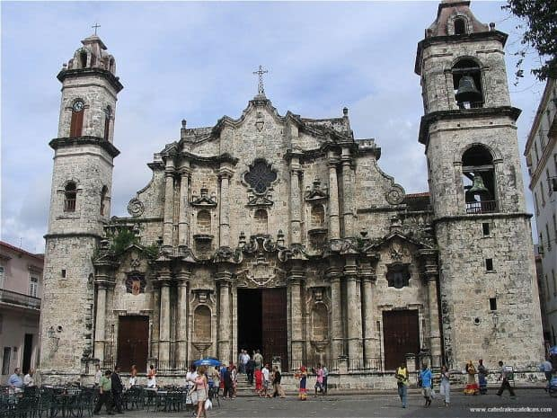 Havana - mini ghid turistic catedral de la havana
