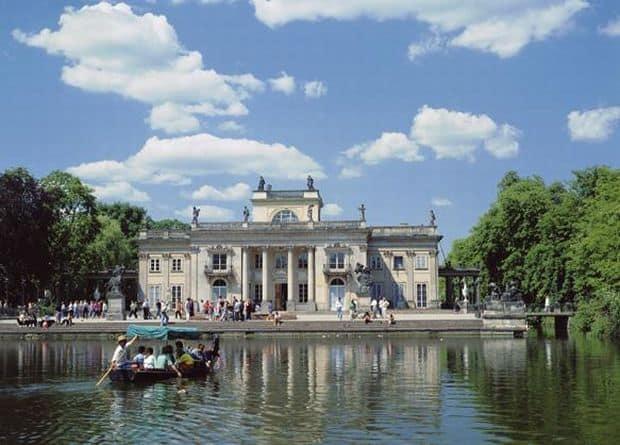 Varsovia, intr-o privire lazienki