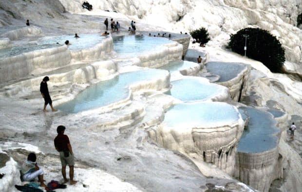 turcia Top 10 atractii turistice din Turcia pamukkale