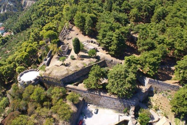 Insulele grecesti: Zakynthos - un albastru infinit zakynthos castel