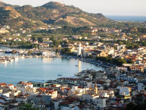 Insulele grecesti: Zakynthos - un albastru infinit zakynthos panorama