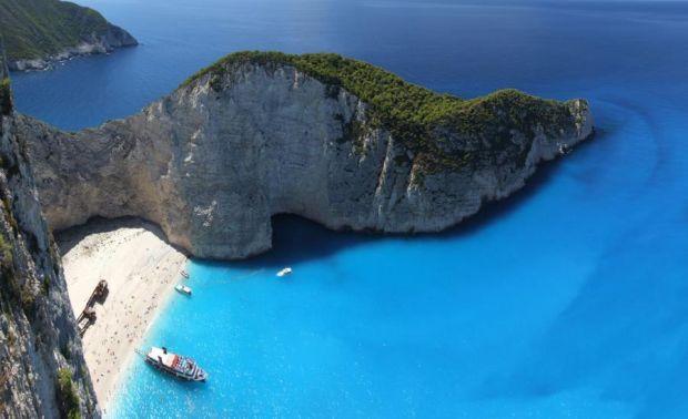 Insulele grecesti: Zakynthos - un albastru infinit zakynthos1