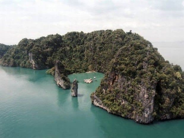 Uimitorul cinematograf plutitor de pe insula Yao Noi (Thailanda) yao noi 2