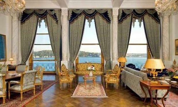 Cele mai scumpe camere de hotel din Europa Grand Sultan Suite Ciragan