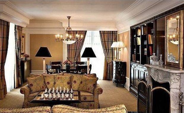 Cele mai scumpe camere de hotel din Europa Ritz Carlton Suite Ritz Carlton Hotel Moscova