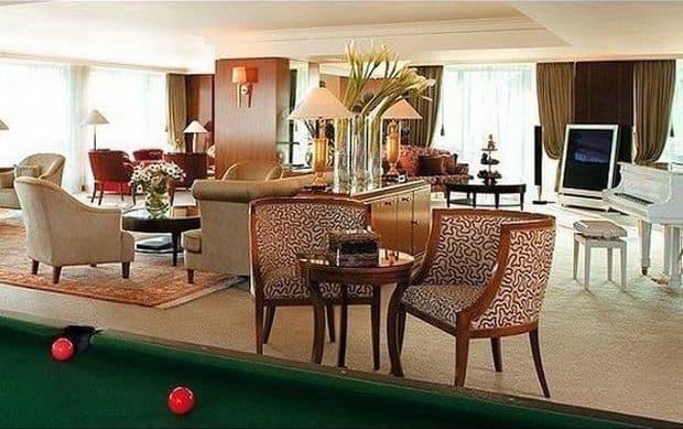 Cele mai scumpe camere de hotel din Europa royal penthouse suite