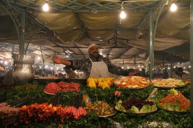 Djemaa el-Fna Inima orasului Marrakesh: Piata Djemaa el-Fna Djemaa el Fna 2