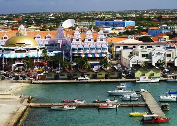 caraibe 8 orase fantastice din Caraibe Oranjestad