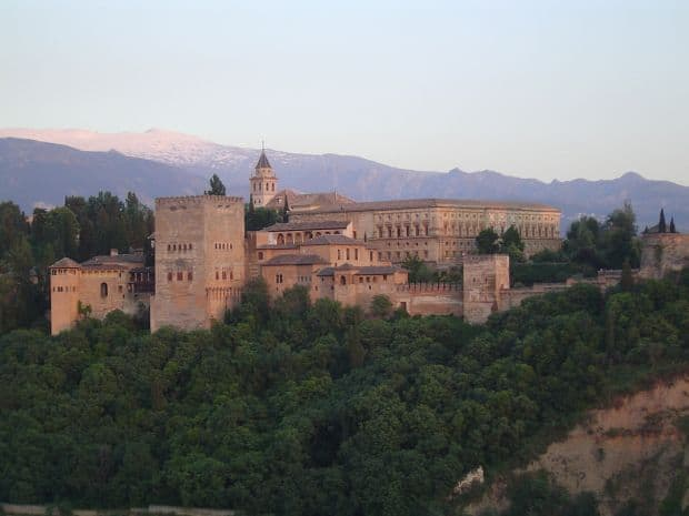 palate Cele mai frumoase palate din lume alhambra