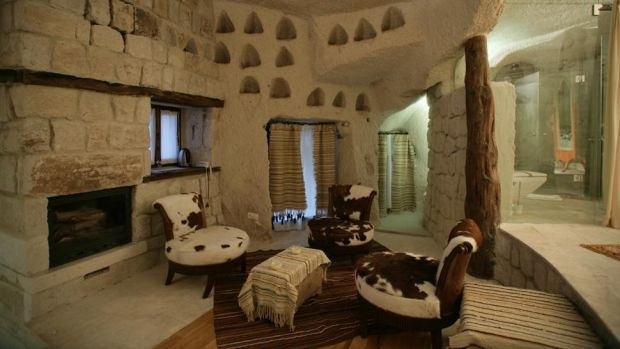 Lux exclusivist: casele Anatoliene din Goreme, Cappadocia anatolian3