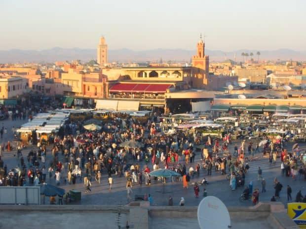 Djemaa el-Fna Inima orasului Marrakesh: Piata Djemaa el-Fna djemaa el fna