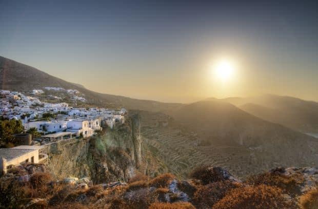 folegandros Insulele grecesti: Folegandros, nestemata ascunsa folegandros apus