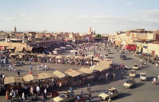 Djemaa el-Fna Inima orasului Marrakesh: Piata Djemaa el-Fna mar68