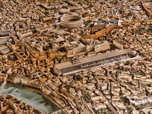 10 fantastice orase in miniatura roman civiliz