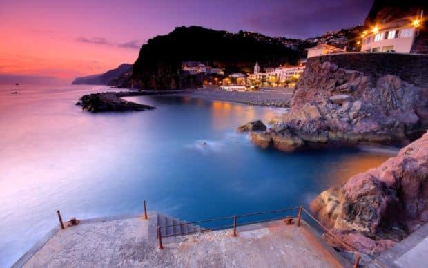 madeira Magica insula Madeira apus ponta do sol