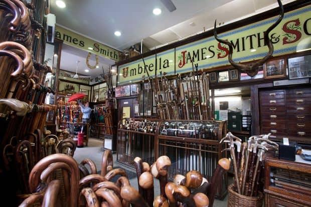 10 piete si magazine ciudate The Old Umbrella Shop
