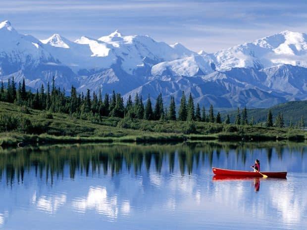 Patru destinatii de vis pentru petrecerea lunii de miere alaska