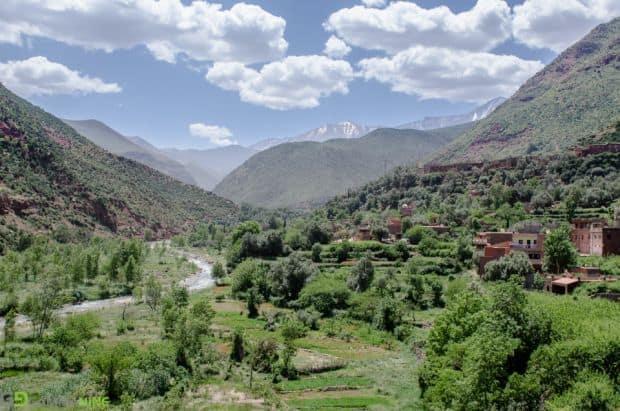 Valea Ourika din Maroc O evadare in Valea Ourika din Maroc Ourika Valley