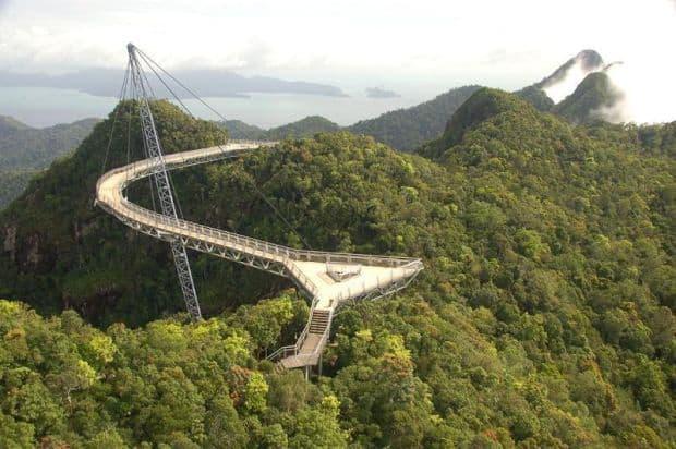 "Cele mai ""extreme"" poduri din lume Pulau Langkawi"